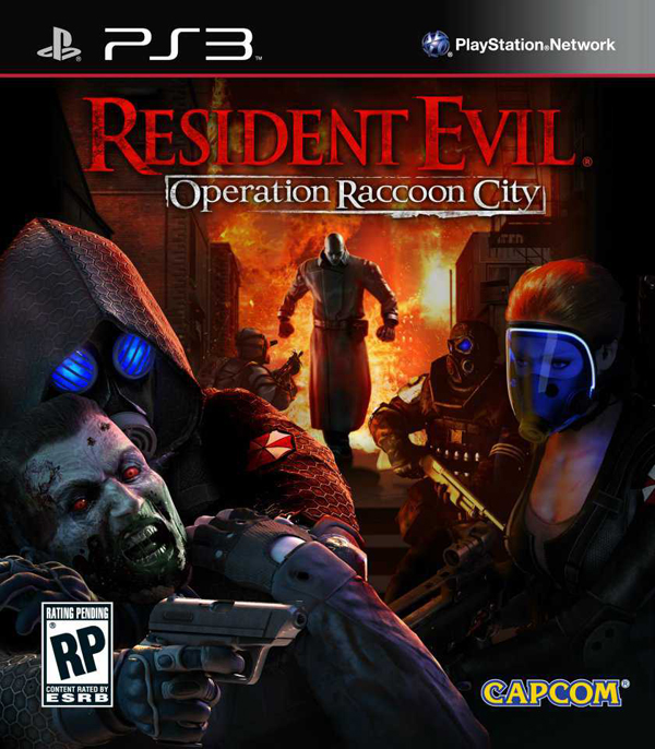 Resident Evil: Operation Raccoon City Video Game Back Title by WonderClub