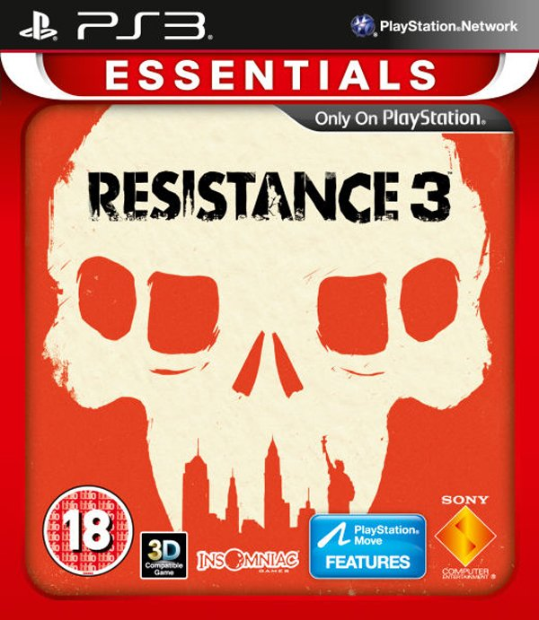 Resistance 3 Video Game Back Title by WonderClub
