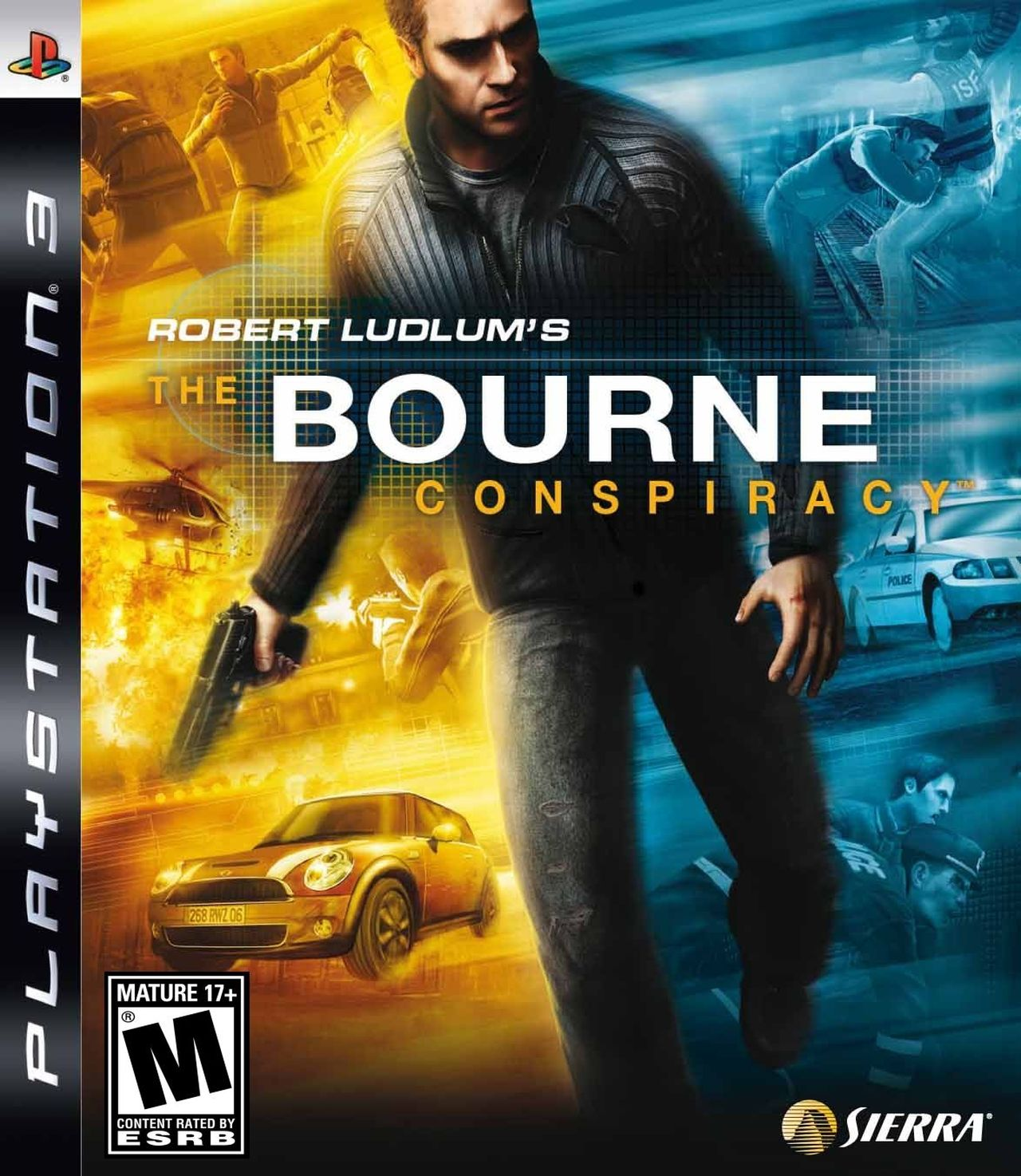 Robert Ludlum's The Bourne Conspiracy Video Game Back Title by WonderClub