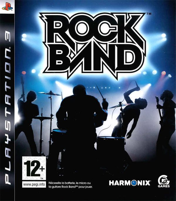 Rock Band Video Game Back Title by WonderClub