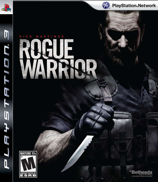 Rogue Warrior Video Game Back Title by WonderClub