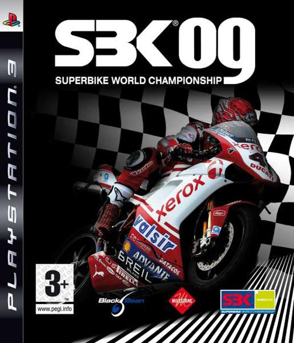 SBK-09: Superbike World Championship Video Game Back Title by WonderClub