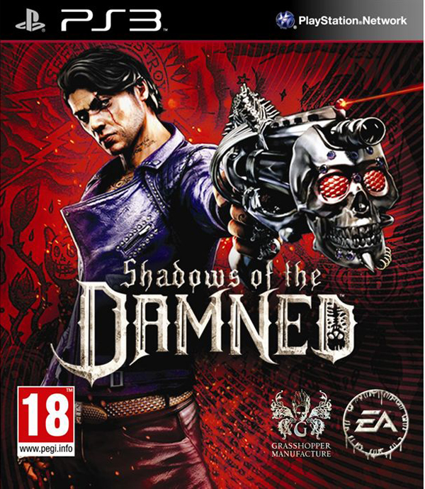 Shadows Of The Damned Video Game Back Title by WonderClub