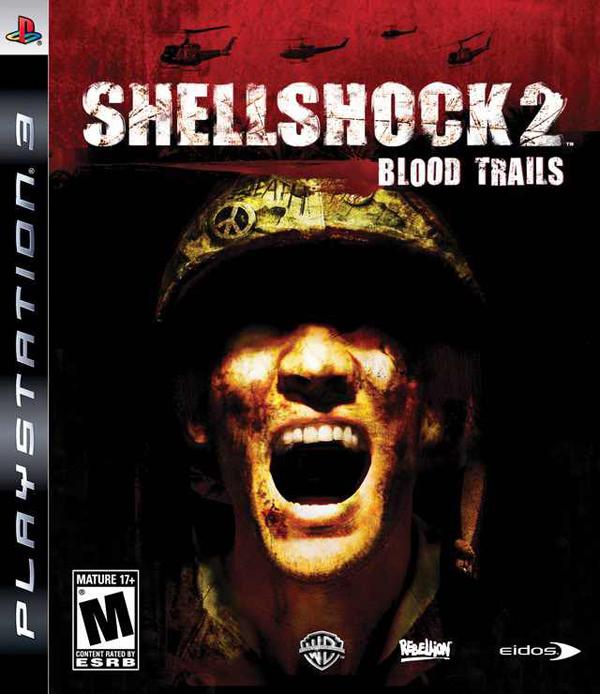 Shellshock 2: Blood Trails Video Game Back Title by WonderClub