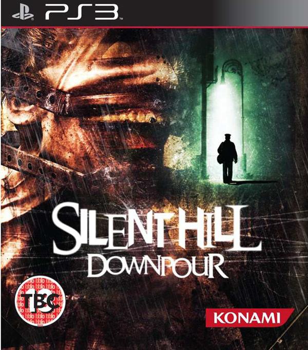 Silent Hill: Downpour Video Game Back Title by WonderClub