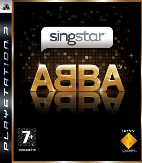 SingStar ABBA Video Game Back Title by WonderClub
