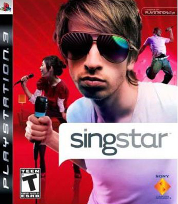 SingStar Video Game Back Title by WonderClub