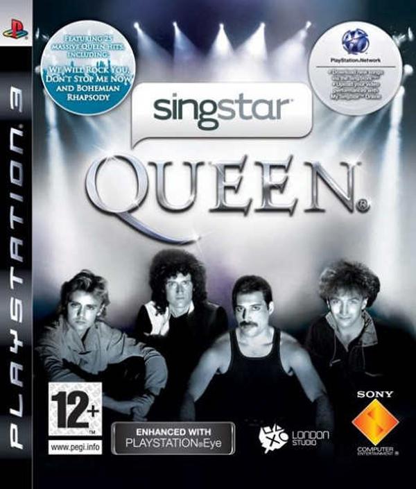 SingStar Queen Video Game Back Title by WonderClub