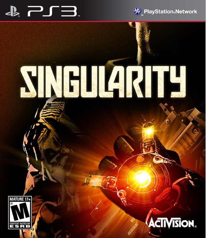Singularity Video Game Back Title by WonderClub