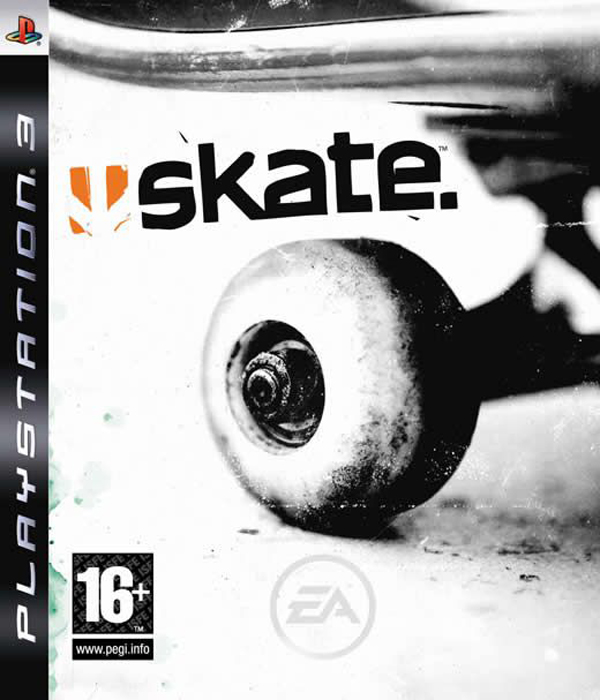 Skate  Video Game Back Title by WonderClub