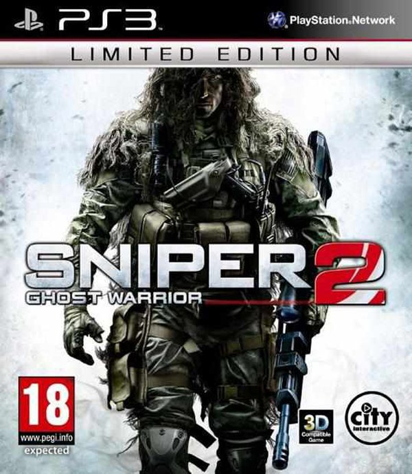 Sniper: Ghost Warrior 2 Video Game Back Title by WonderClub