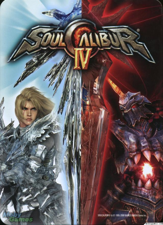 Soulcalibur IV Video Game Back Title by WonderClub