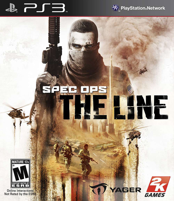 Spec Ops: The Line Video Game Back Title by WonderClub
