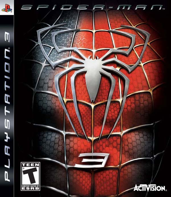 Spider-Man 3 Video Game Back Title by WonderClub