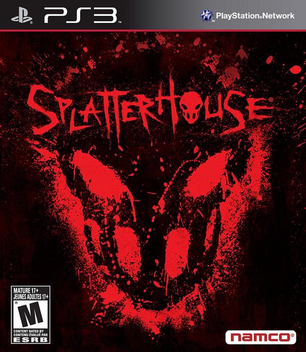 Splatterhouse  Video Game Back Title by WonderClub