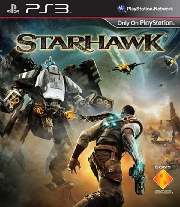 Starhawk Video Game Back Title by WonderClub