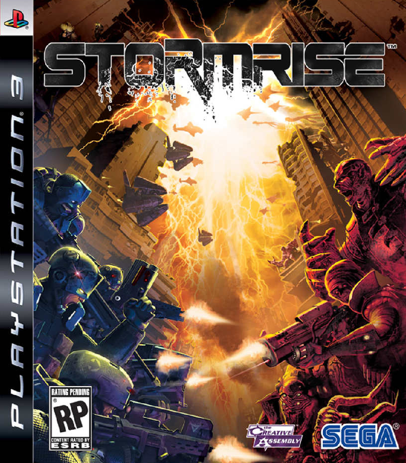 Stormrise Video Game Back Title by WonderClub
