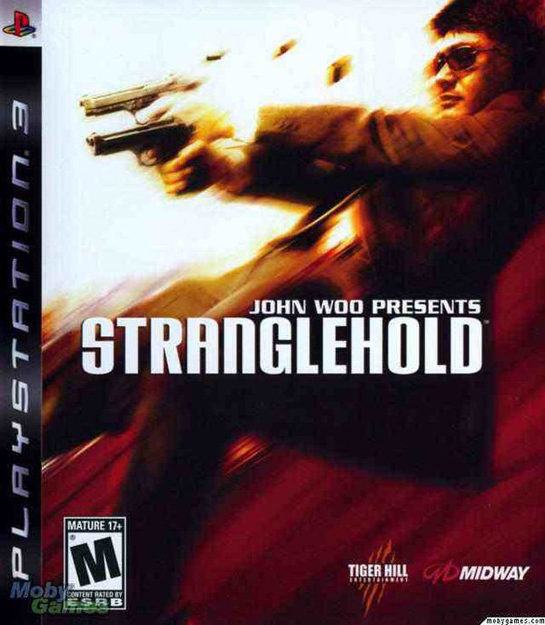 Stranglehold  Video Game Back Title by WonderClub