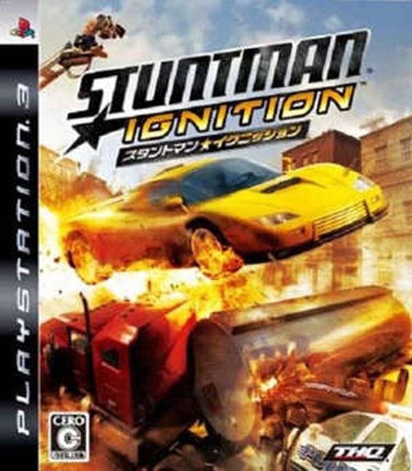 Stuntman: Ignition Video Game Back Title by WonderClub