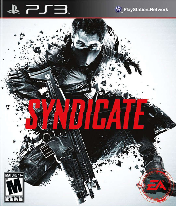 Syndicate Video Game Back Title by WonderClub