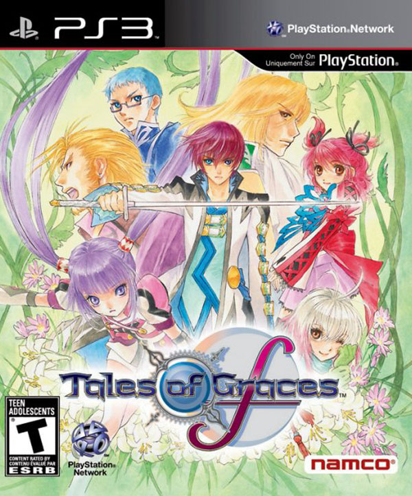 Tales Of Graces Video Game Back Title by WonderClub