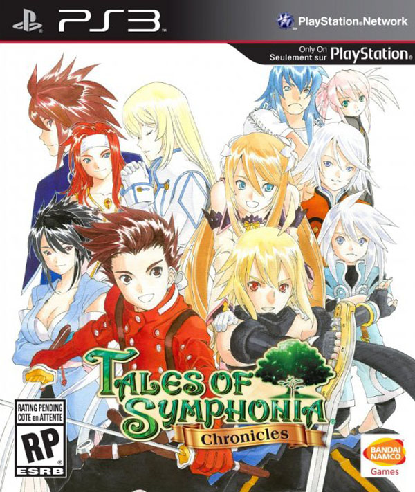 Tales Of Symphonia Chronicles Video Game Back Title by WonderClub