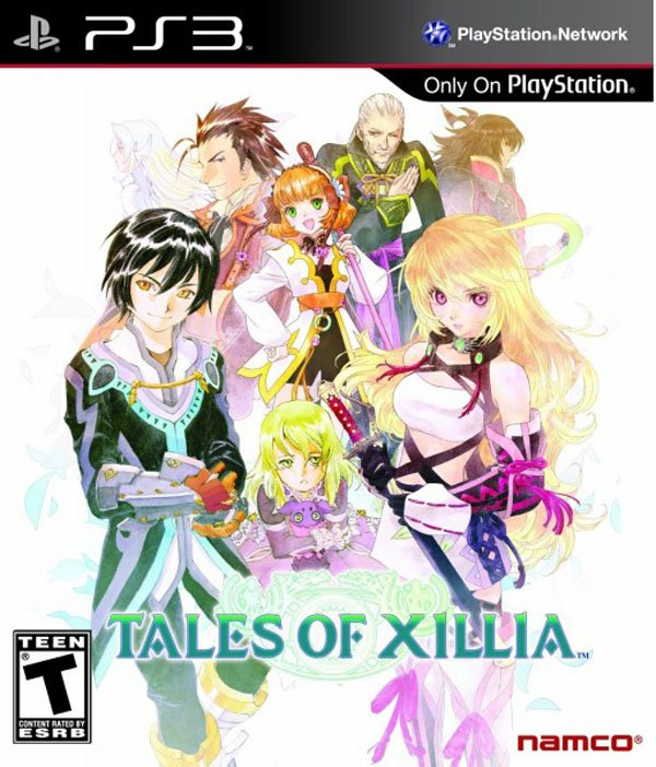 Tales Of Xillia Video Game Back Title by WonderClub