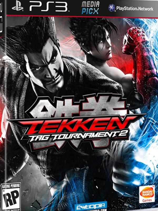 Tekken Tag Tournament 2 Video Game Back Title by WonderClub