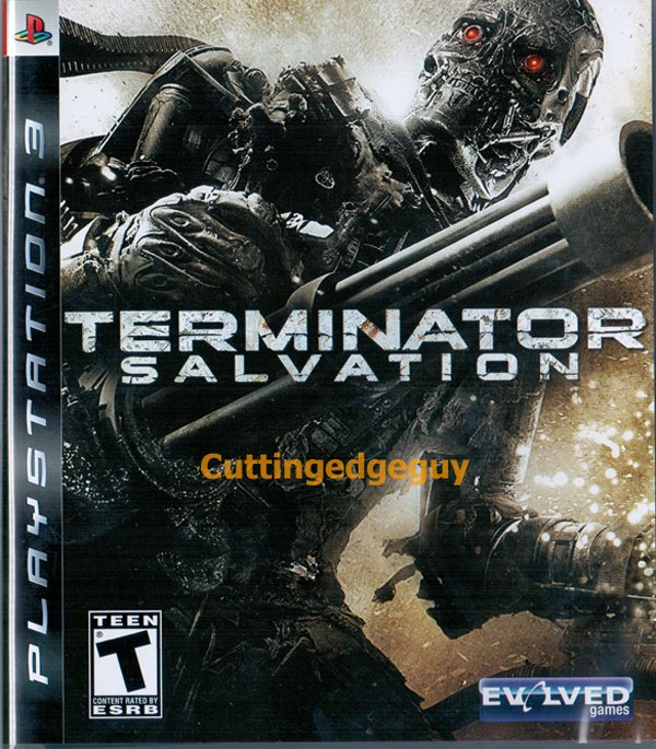 Terminator Salvation  Video Game Back Title by WonderClub