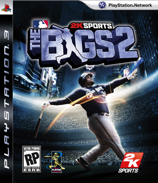 The Bigs 2 Video Game Back Title by WonderClub
