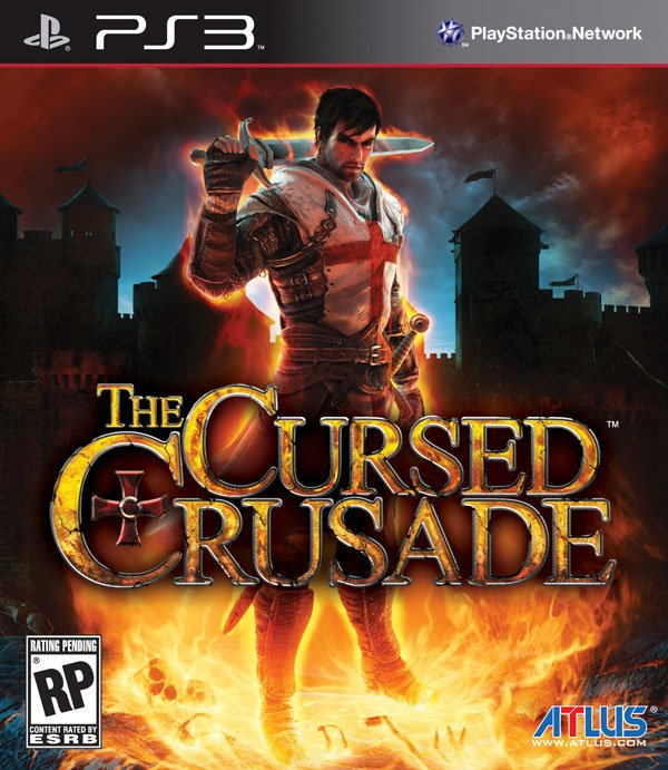 The Cursed Crusade Video Game Back Title by WonderClub