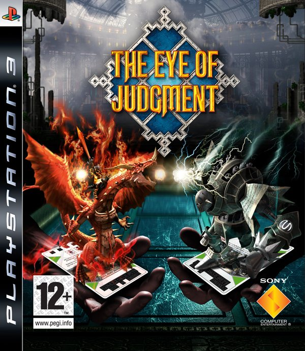 The Eye Of Judgment Video Game Back Title by WonderClub