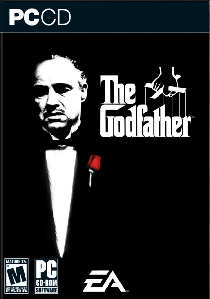 The Godfather: The Game Video Game Back Title by WonderClub