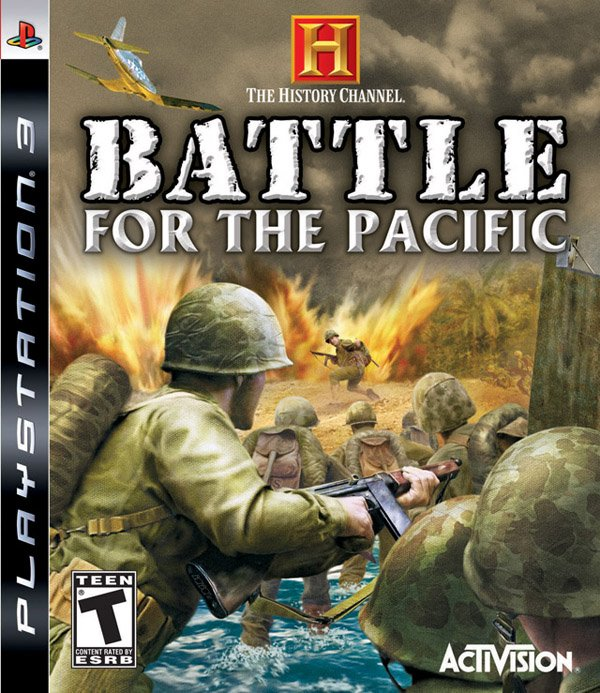 The History Channel: Battle For The Pacific Video Game Back Title by WonderClub