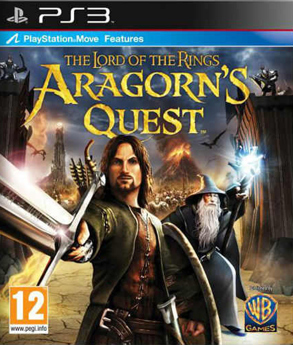 The Lord Of The Rings: Aragorn's Quest Video Game Back Title by WonderClub