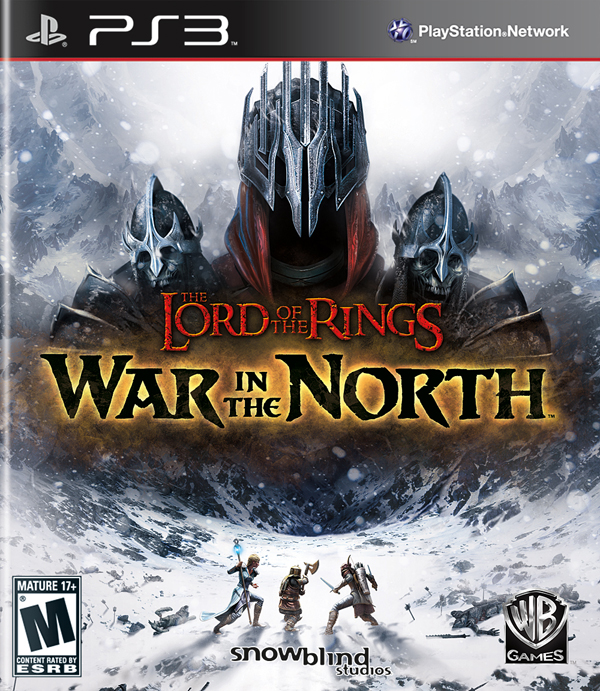 The Lord Of The Rings: War In The North Video Game Back Title by WonderClub