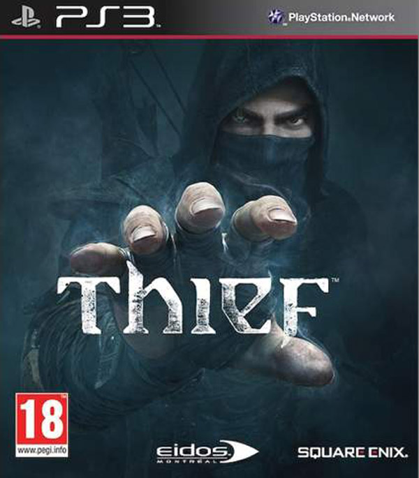 Thief  Video Game Back Title by WonderClub