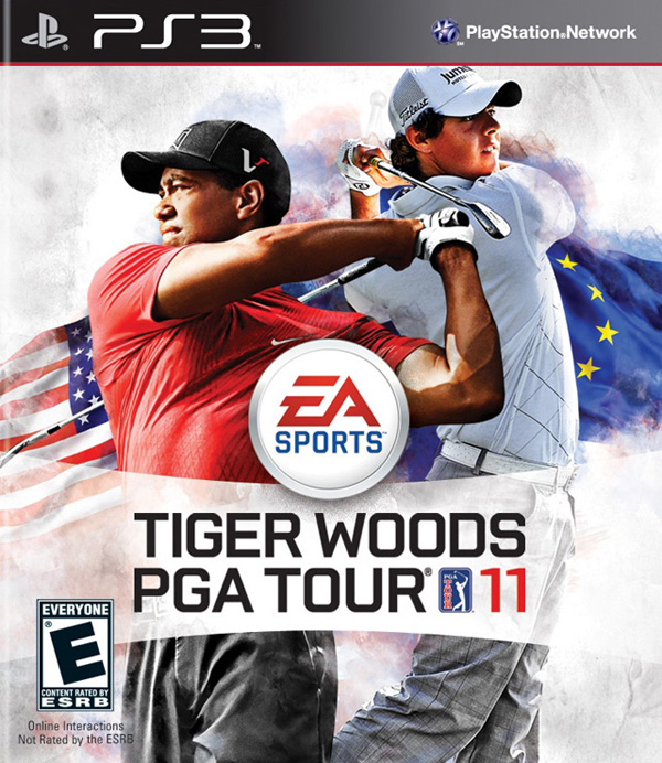 Tiger Woods PGA Tour 11 Video Game Back Title by WonderClub