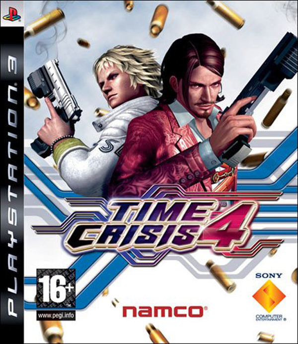 Time Crisis 4 Video Game Back Title by WonderClub