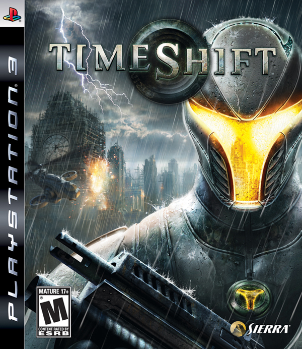 TimeShift Video Game Back Title by WonderClub
