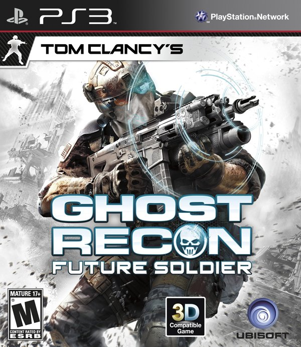 Tom Clancy's Ghost Recon: Future Soldier Video Game Back Title by WonderClub