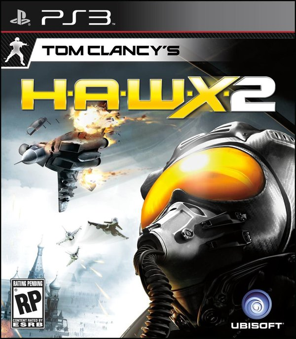 Tom Clancy's H.A.W.X 2 Video Game Back Title by WonderClub