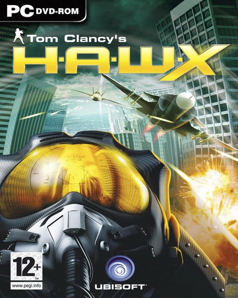 Tom Clancy's H.A.W.X Video Game Back Title by WonderClub