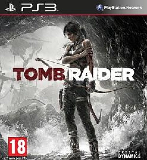 Tomb Raider Video Game Back Title by WonderClub