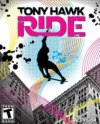 Tony Hawk: Ride Video Game Back Title by WonderClub