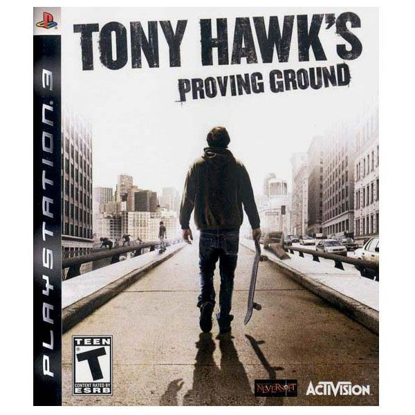 Tony Hawk's Proving Ground Video Game Back Title by WonderClub