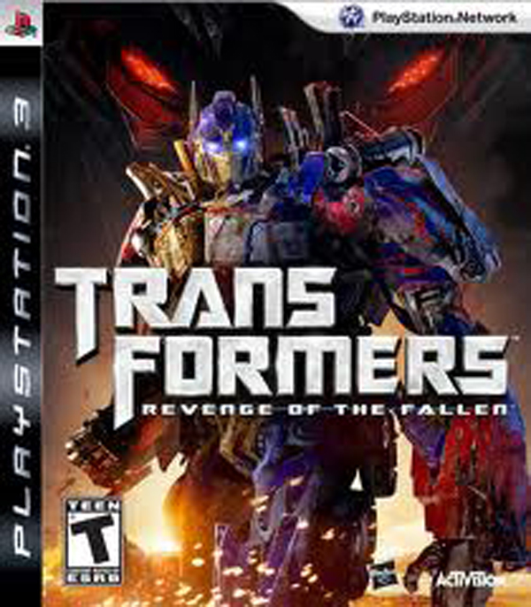 Transformers: Revenge Of The Fallen  Video Game Back Title by WonderClub