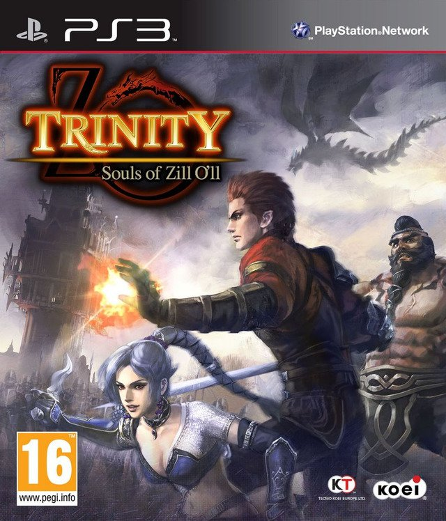 Trinity: Souls Of Zill O'll Video Game Back Title by WonderClub