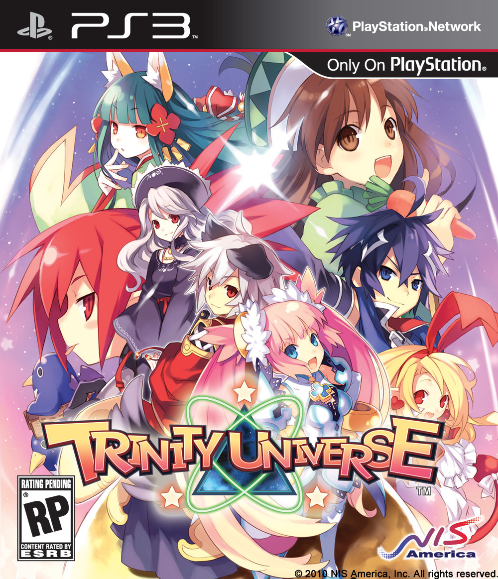 Trinity Universe  Video Game Back Title by WonderClub