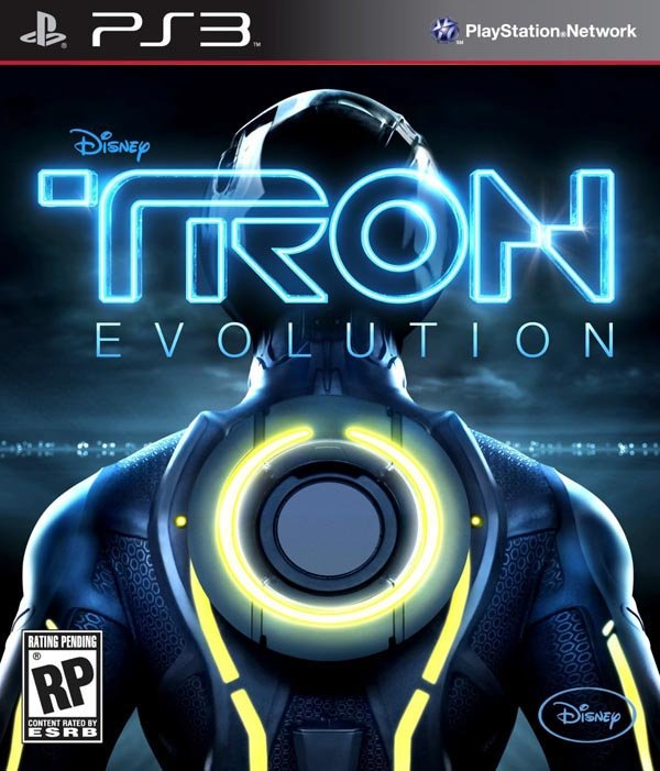 Tron: Evolution Video Game Back Title by WonderClub